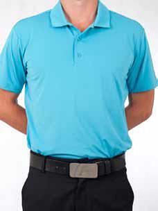 Blue T Polo