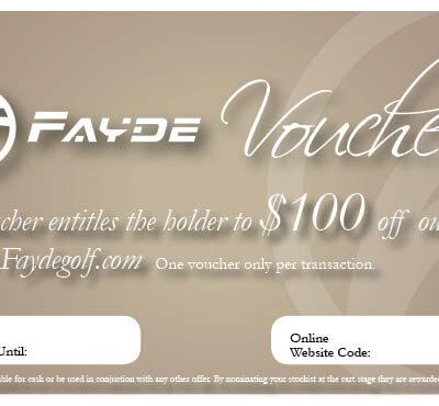 $100 Fayde Certificate