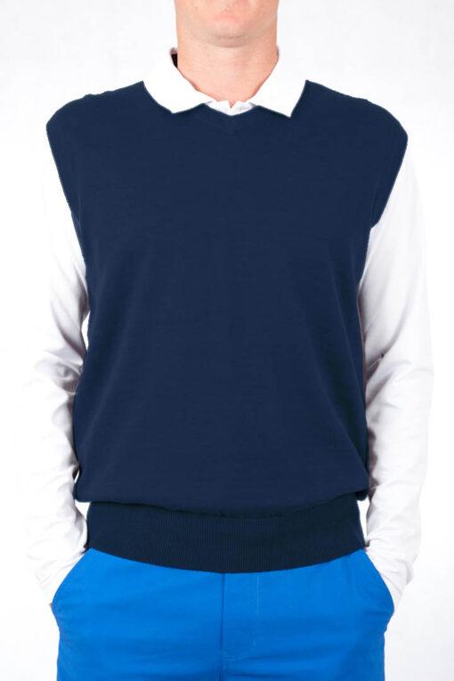 Blue T Vest